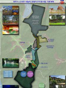 GENETECH 慶州市開発地図